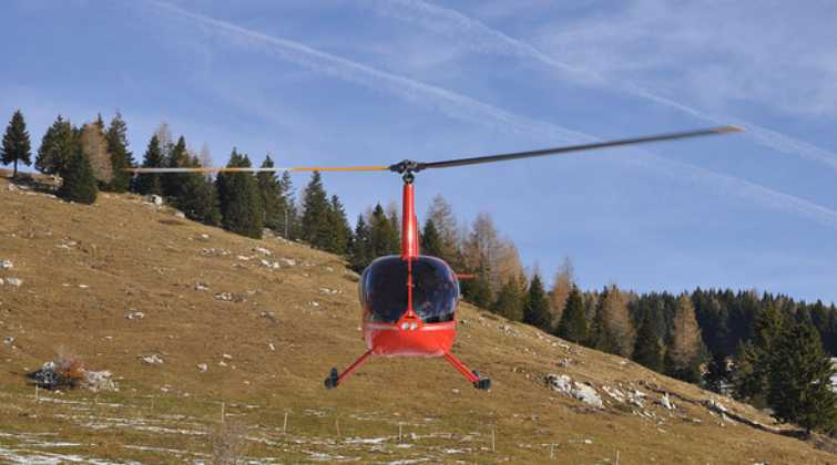 Helicopter Charter Service - Small Heli Flights